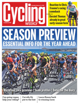 Cycling Weekly 22nd February  2018