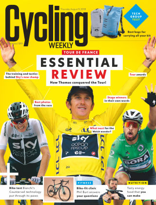 Cycling Weekly 9th August 2018