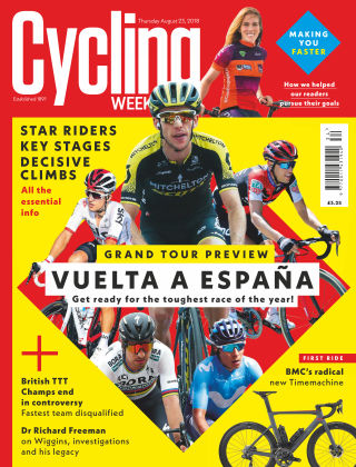 Cycling Weekly 23rd August 2018