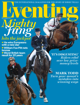 Eventing October 2013