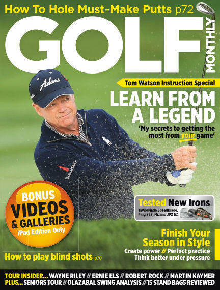Golf Monthly October 31, 2013 00:00