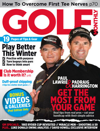 Golf Monthly December 2013