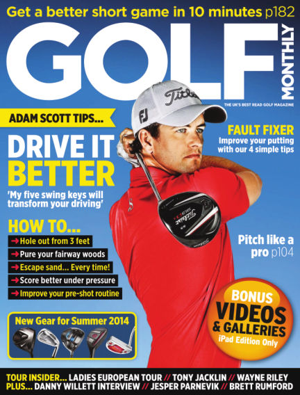 Golf Monthly July 10, 2014 00:00