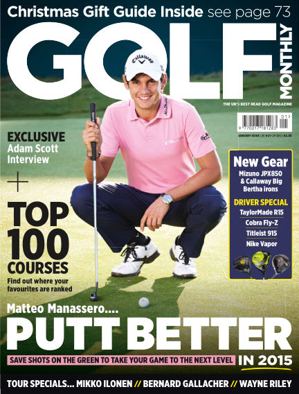 Golf Monthly December 30, 2014 00:00