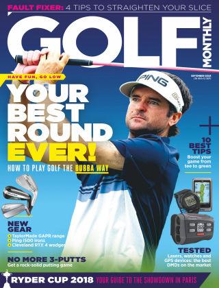 Golf Monthly Sep 2018