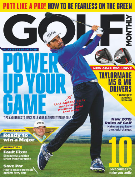 Golf Monthly January 03, 2019 00:00