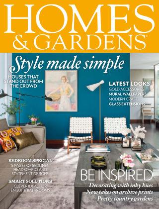 Homes and Gardens - UK May 2014