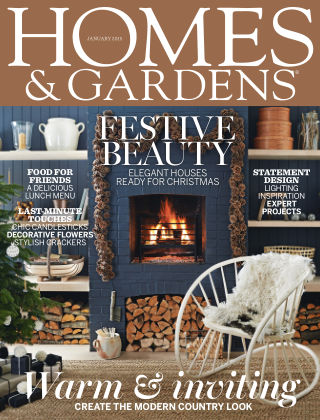 Homes and Gardens - UK January 2015