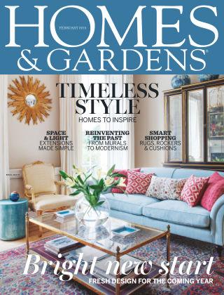 Homes and Gardens - UK February 2015