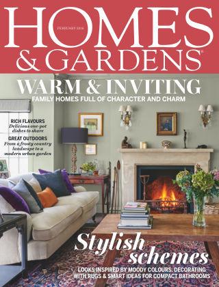 Homes and Gardens - UK February 2016