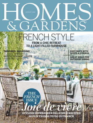 Homes and Gardens - UK August 2016