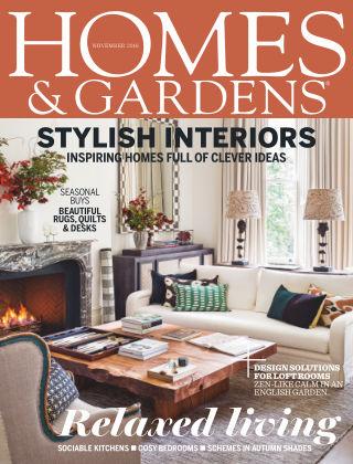 Homes and Gardens - UK November 2016