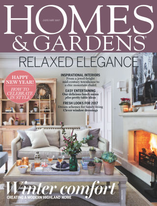 Homes and Gardens - UK January 2017