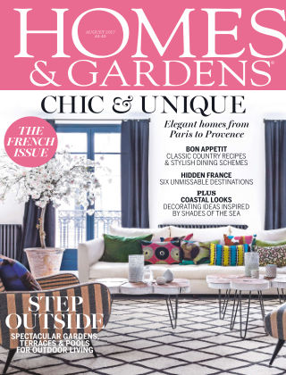 Homes and Gardens - UK August 2017