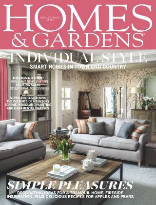 Homes and Gardens - UK Nov 2017