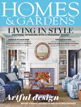 Homes and Gardens - UK Jul 2018