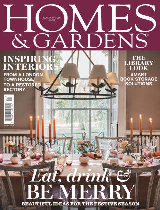 Homes and Gardens - UK Jan 2019
