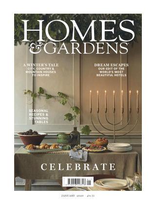 Homes and Gardens - UK Jan 2020