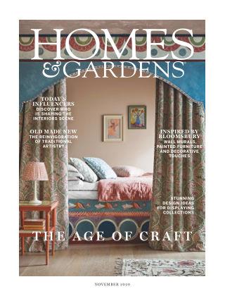 Homes and Gardens - UK November 2020