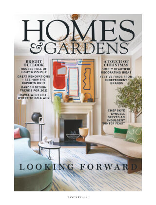 Homes and Gardens - UK January 2021