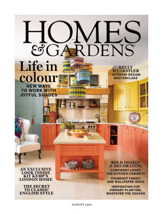 Homes and Gardens - UK August-21