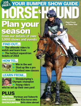 Horse & Hound 27th February 2014