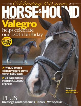 Horse & Hound 17th April 2014