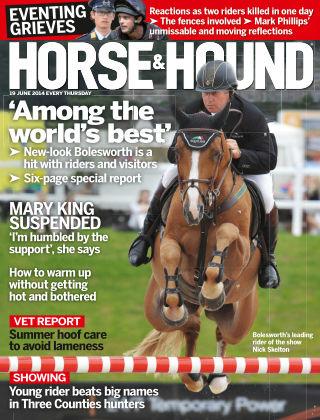 Horse & Hound 19th June 2014