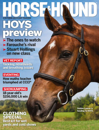 Horse & Hound 2nd October 2014