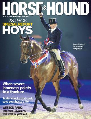 Horse & Hound 16th October 2014