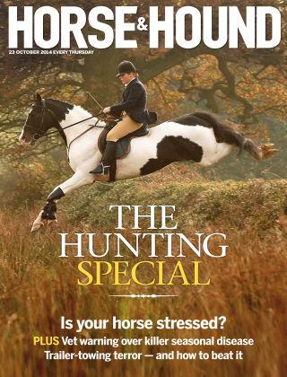 Horse & Hound 23rd October 2014