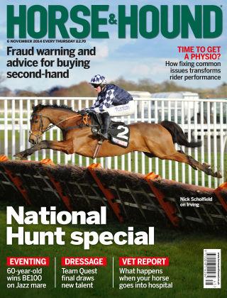 Horse & Hound 6th November 2014