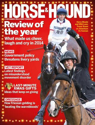 Horse & Hound 4th December 2014