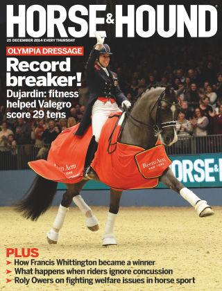 Horse & Hound 25th December 2014