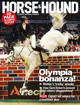 Horse & Hound 1st January 2015