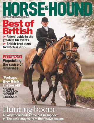 Horse & Hound 8th January 2015