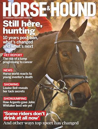 Horse & Hound 19th February 2015