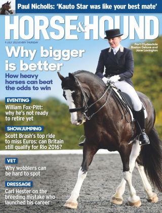 Horse & Hound 09th July 2015