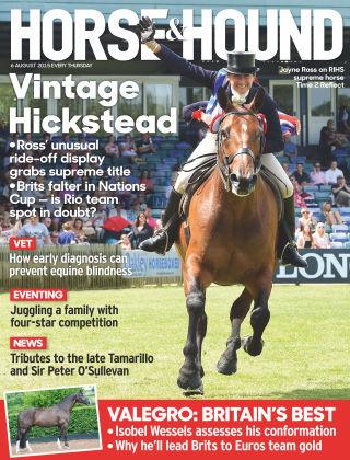 Horse & Hound 6th August 2015