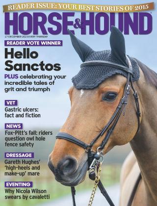 Horse & Hound 17th December 2015