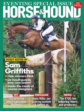 Horse & Hound 3rd March 2016