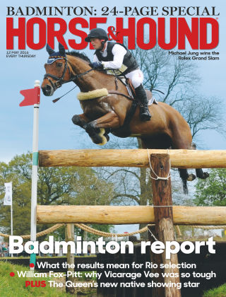 Horse & Hound 12th May 2016