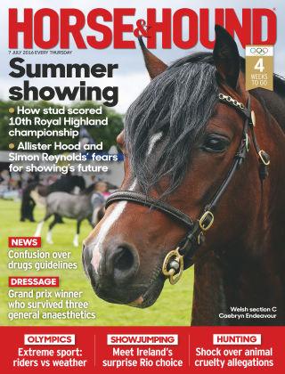 Horse & Hound 7th July 2016