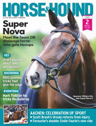 Horse & Hound 21st July 2016