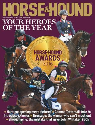 Horse & Hound 10th November 2016