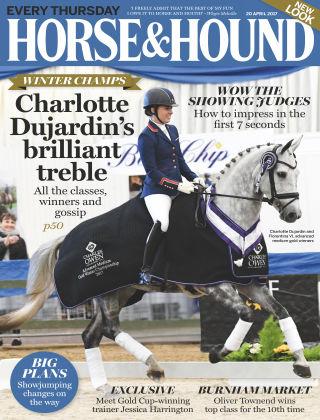 Horse & Hound 20th April 2017
