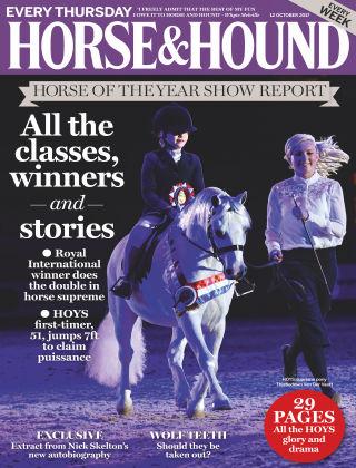 Horse & Hound 12th October 2017