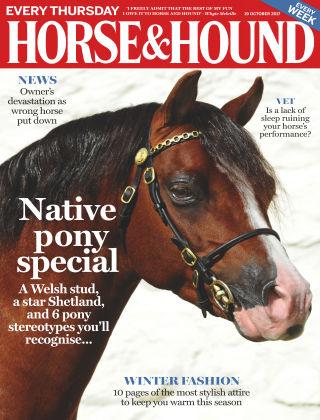 Horse & Hound 19th October 2017
