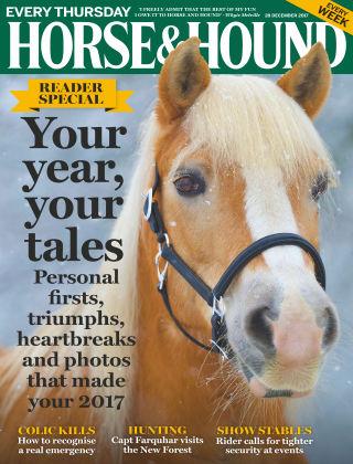 Horse & Hound 28th December 2017