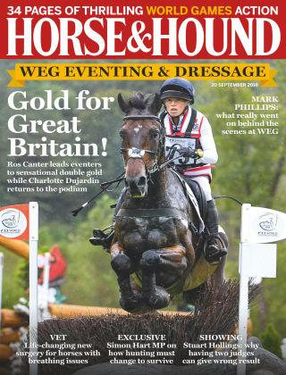 Horse & Hound 20th September 2018